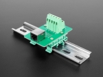 [로봇사이언스몰][Adafruit][에이다프루트] DIN Rail RJ-45 To Terminal Block Adapter - Right Angle Jack id:3797