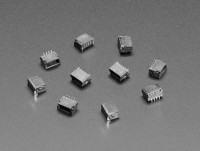 [로봇사이언스몰][Adafruit][에이다프루트] JST SH 4-pin Vertical Connector (10-pack) - Qwiic Compatible id:4328