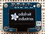 [로봇사이언스몰][Adafruit][에이다프루트] Monochrome 0.96inch 128x64 OLED graphic display ID:326